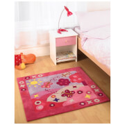 Tapis Flair Kiddy Play Rugs - Scène d'Été (90X90)