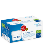 Aqua Optima Evolve 30 Day Water Filter 3 Pack (3-6 Month)