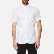 BOSS Orange Men's Cattitude Short Sleeve Shirt - White