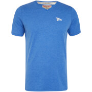 Tokyo Laundry Men's Essential V Neck T-Shirt - Cornflower Blue