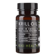 KIKI Health Krill Oil Softgels (30 Capsules)