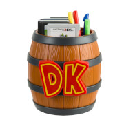 Donkey Kong Barrel 3DS Game Card Storage
