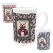 Bear Bone China Mug