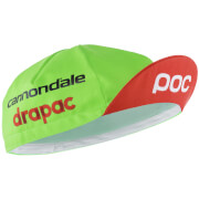 POC Cannondale Drapac Replica Cap - Black/Green/Red