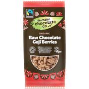 The Raw Chocolate Company Organic Raw Chocolate Goji Berries Snack Pack - 28g