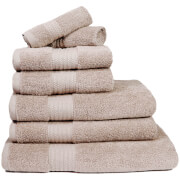 Restmor 100% Egyptian Cotton 7 Piece Supreme Towel Bale Set (500gsm) - Latte