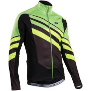 Sugoi RS Zero Long Sleeve Jersey - Black/Green