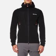 Montane Men's Dyno Stretch Softshell Jacket - Black/Alpine Red