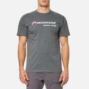 Montane Men's Logo T-Shirt - Stratus Grey/White