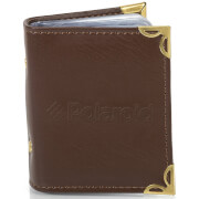 Polaroid Leatherette Photo Album (For 2x3 Inch Film/Paper) - Brown