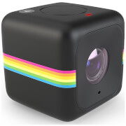 Polaroid Cube+ 1440p Mini Lifestyle Wi-Fi Action Camera - Black