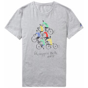 Le Coq Sportif Tour de France N5 T-Shirt - Grey