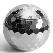 Disco Ball Straw Cup - Silver