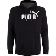 Puma Men's Essential Logo Hoody - Black