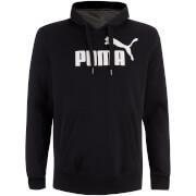 Sweat à Capuche Essential Logo Puma -Noir