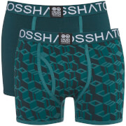Crosshatch Men's 3 Pack Causeway Boxer Shorts - Ponderosa Pine