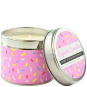 Pink Cupcake Sprinkles Tin Candle