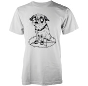 Abandon Ship Hell Hound Heren T-shirt - Wit