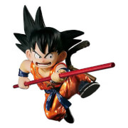 Figurine Banpresto Dragon Ball Scultures Son Goku - Version Spéciale Couleur Métallique