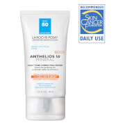 La Roche-Posay Anthelios 50 Tinted Mineral Daily Tone Correcting Primer, Face Sunscreen SPF 50 with Antioxidants, 1.35 Fl. Oz.