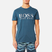 BOSS Hugo Boss Men's Large Logo T-Shirt - Navy