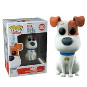 Secret Life of Pets POP! Movies Vinyl Figure Max (Flocked) 9 cm