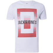 T-Shirt Homme Core Booster Jack & Jones - Blanc