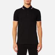 HUGO Men's Dasto Tipped Polo Shirt - Black