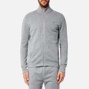 BOSS Orange Men's Zissou Bomber Sweatshirt - Light Grey