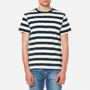 Levi's Men's Mighty T-Shirt - Bass Stripe Marshmallow