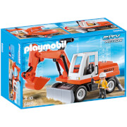 Playmobil City Action Construction Rubble Excavator with Function Shovel (6860)