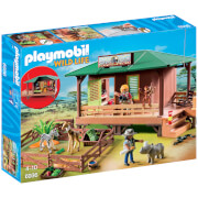 Playmobil Wildlife Ranger Station with Animal Area (6936)