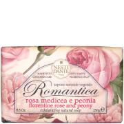 Мыло для создания романтического настроения «Роза и пион» Nesti Dante Romantica Rose and Peony Soap 250г
