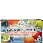Nesti Dante Paradiso Tropicale Tahitian Lime and Mosambi Peel Soap 250g