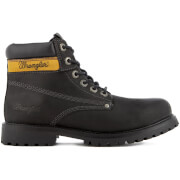 Wrangler Men's Hunter Lace Up Boots - Black