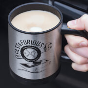Fast & Furious Self Stir Mug - Silver