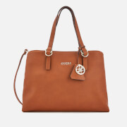 Guess Women's Tulip Satchel Bag - Cognac