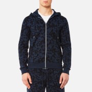 Michael Kors Men's Subtle Camo Zip Hoody - Midnight