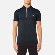 BOSS Green Men's Pavotech Sports Polo Shirt - Navy