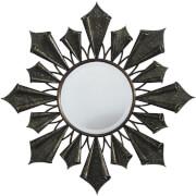 Premier Housewares Verona Starburst Wall Mirror - Antique Gold