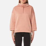 Puma Women's Funnel Neck Sweatshirt - Cameo Brown