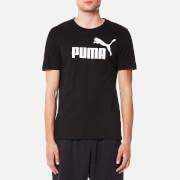 Puma Men's Essential No.1 Short Sleeve T-Shirt - Puma Black