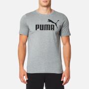 Puma Men's Essential No.1 Short Sleeve T-Shirt - Medium Grey Heather