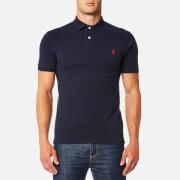 Polo Ralph Lauren Men's Slim Fit Mesh Polo Shirt - Navy