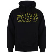 Sweat à Capuche Homme - Star Wars Logo - Noir