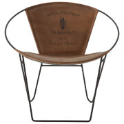 Fifty Five South Buffalo Chair - Leather
