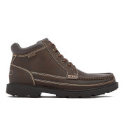 Rockport Men's Redemption Road Moc Toe Waterproof Boots - Dark Brown