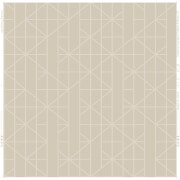 Kelly Hoppen Linear Geometric Metallic Wallpaper - Taupe/Rose Gold