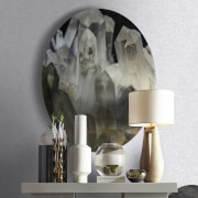 Kelly Hoppen Shimmer Textured Plain Metallic Wallpaper - Silver