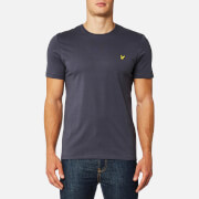 Lyle & Scott Men's Plain Pick Stitch T-Shirt - Washed Grey